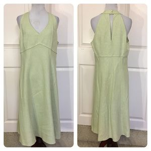 NWT!  LOFT linen blend dress